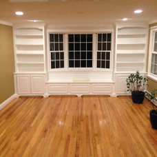 Traditional Living Room by Phillip F Gaudette Construction Co. Inc.