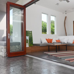 contemporary living room by LaCantina Doors