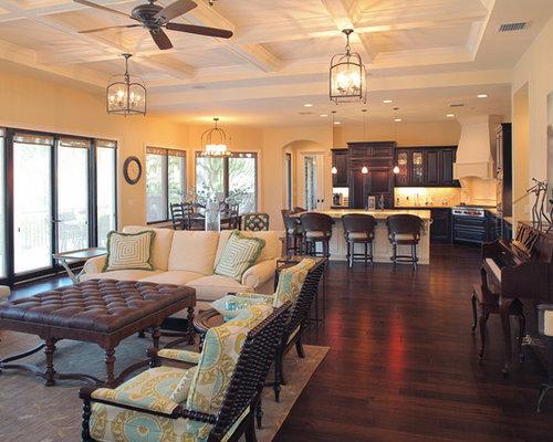 Houzz Home Design: Open Concept Floor Plan Home Design Ideas, Pictures