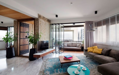 Houzz Tour: This Condo's Revamp is a Meeting of Styles and Needs