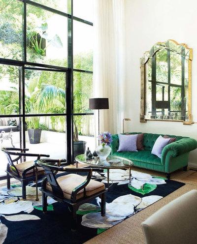 Klassisch modern Wohnbereich by Brendan Wong Design