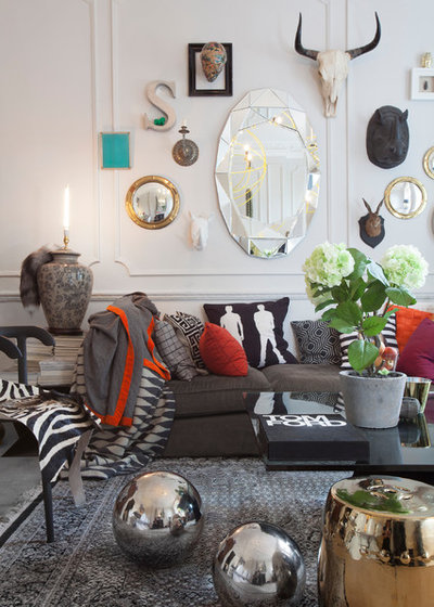 Eclectic Living Room by Jimmie Martin