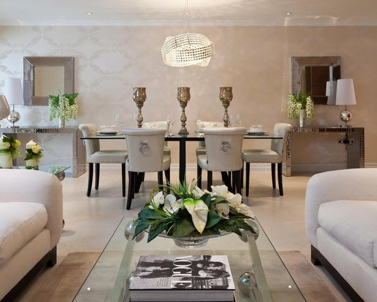 art deco dining room | houzz