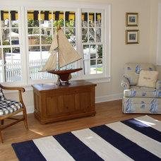 Traditional Living Room by Flagg Coastal Homes