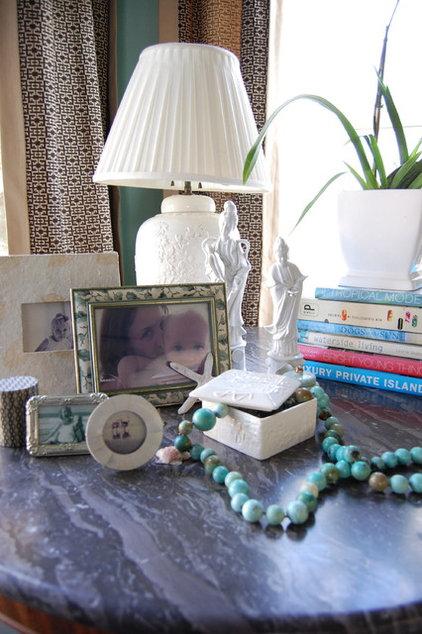 Eclectic Living Room by M.A.D. Megan Arquette Design