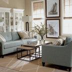 lovely beach house living room | Lovely Living Rooms - Beach Style - Living Room - New York ...