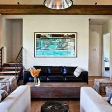 Beach Style Living Room by Cortney Bishop Design