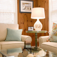 Traditional Living Room by Judy Cook Interiors, LLC