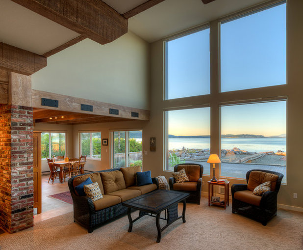 Houzz Tour Major Face Lift Gives A Beach House New Life