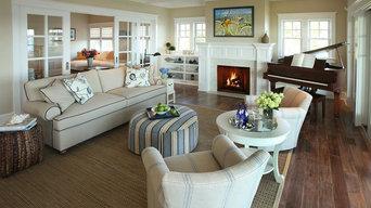 Beach Dwellings' Living Rooms