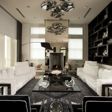 Modern Living Room by David De La Garza / ZURDODGS
