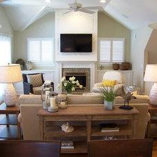 Beach Style Living Room Beach House
