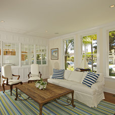 traditional living room by Flagg Coastal Homes