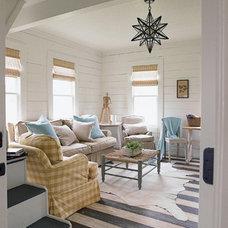 Traditional Living Room by Quatrine Custom Furniture