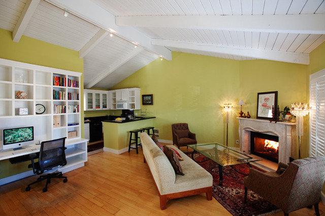 Transitional Living Room by Sybil Jane Barrido, FASID, CID - SJVD DESIGN