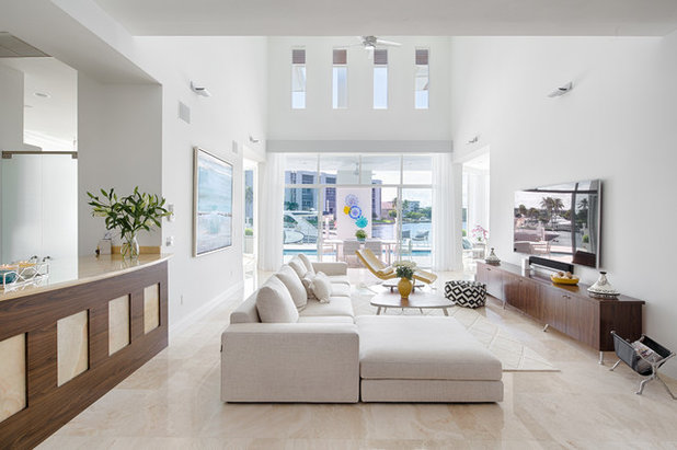 Contemporary Living Room by Rooms by Eve