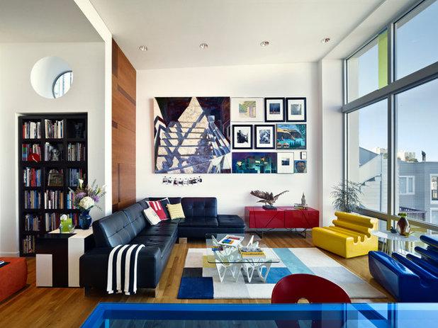 Éclectique Salon by Form4 Architecture