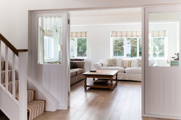 Coastal Living Room by Andrew Lethbridge Associates