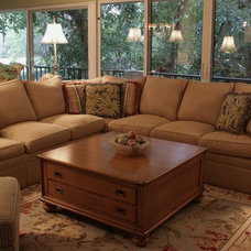 Traditional Living Room by Interiors International, Inc.