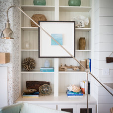 Beach Style Living Room by Ashley Gilbreath Interior Design
