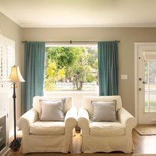 Beach Style Living Room by Beth Dana Design