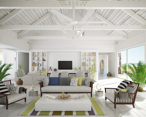 beach style san diego living room design ideas remodels photos