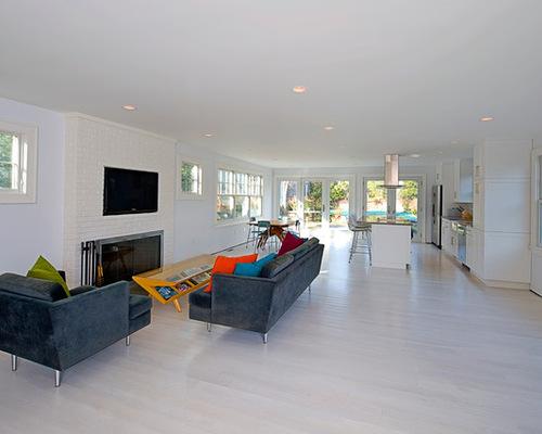 Whitewashed Wood Floor - Whitewashed Wood Floor Houzz