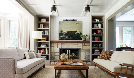 Rustic Materials and Eclectic Decor Transform a California Home