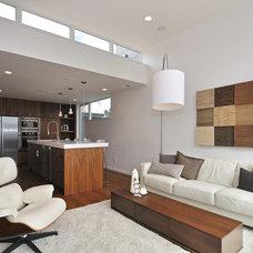 Contemporary Living Room by Chris Pardo Design - Elemental Architecture