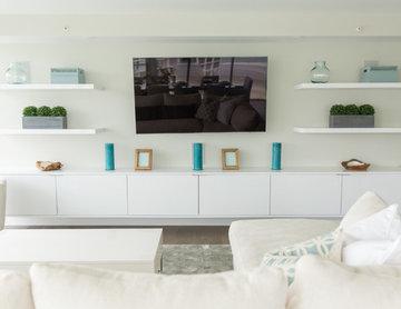 Beachside Condo | Living Room | Coronado, CA
