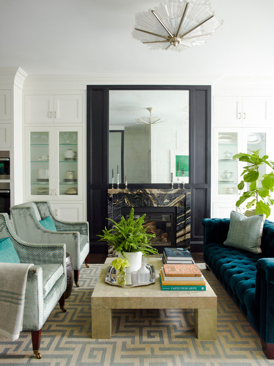 Transitional Living Room Design Ideas Remodels Photos Houzz