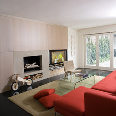 modern living room by Stern McCafferty