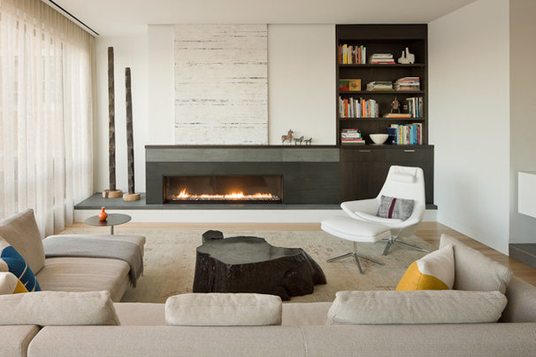 Modern Living Room by Venegas and Company