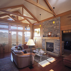 Contemporary Living Room by mark gerwing