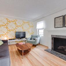 Midcentury Living Room by JIM ARNAL, REALTOR / Hasson Company Realtors