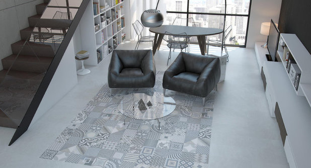 Modern Living Room by Beaumont Tiles