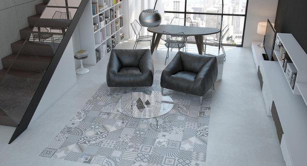 Moderno Salón by Beaumont Tiles