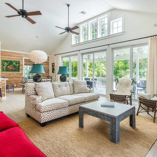 75 Most Popular Beach Style Living Room Design Ideas For 2019