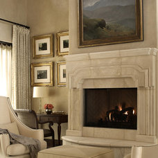Traditional Living Room by Anything But Plain, Inc.