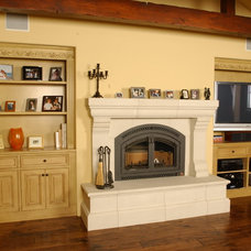 Living Room by Todd Turley Construction