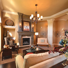 Traditional Living Room by Surface to Surface Interior Design/Construction