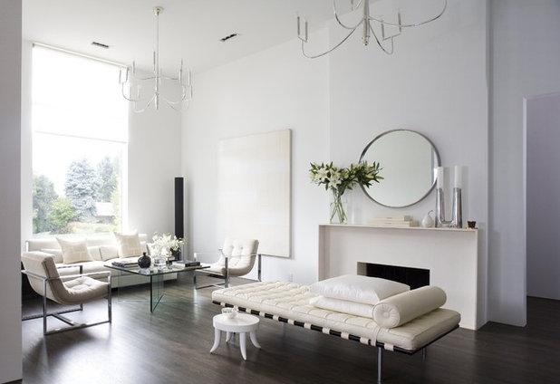 Modern Living Room Beautiful Minimalist Home