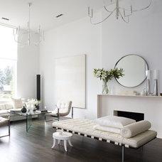 Modern Living Room by Designer Premier