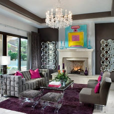 Contemporary Living Room by Garden Candy