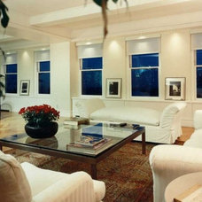 Traditional Living Room by Becker Architects Limited