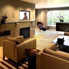 Contemporary Living Room by Becker Architects Limited
