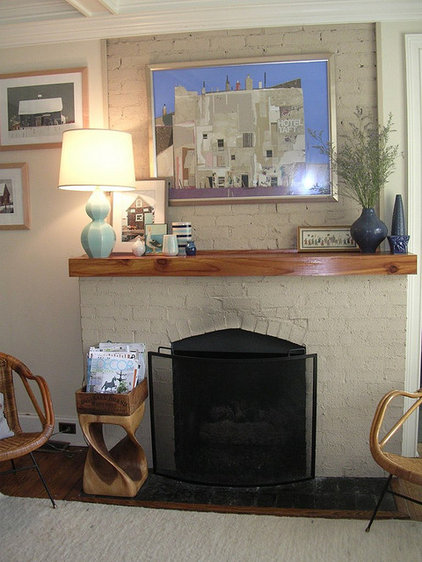 Eclectic Living Room becky harris living room