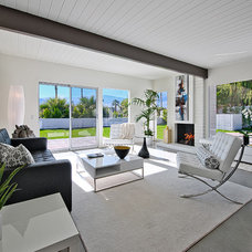 Contemporary Living Room by House & Homes Palm Springs Home Staging