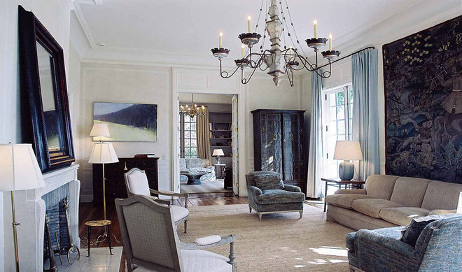 Traditional Living Room by Paul Francis Shurtleff   Architect