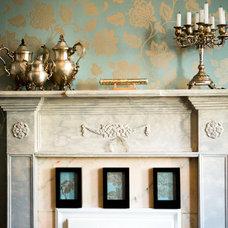 Traditional Living Room by interior designer